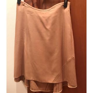 アニオナ(Agnona)のアニオナ シルク スカート 38(ひざ丈スカート)