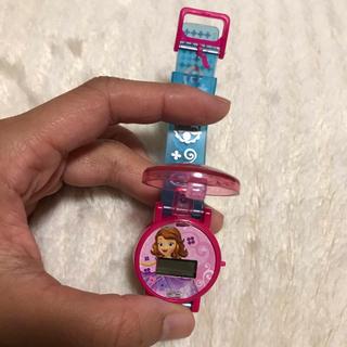 ディズニー(Disney)の新品 未使用 プリンセスソフィア 腕時計(腕時計)