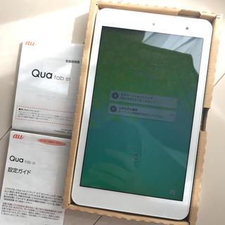 キョウセラ(京セラ)のタブレット Qua tab 01 ほぼ新品(タブレット)