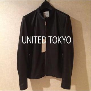UNITED TOKYO シングルライダース(ライダースジャケット)
