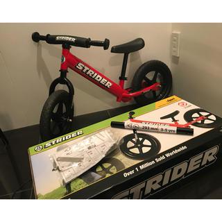 ストライダ(STRIDA)のストライダー 赤 美品 (自転車)