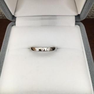 デビアス(DE BEERS)のDE BEERS デビアス ダイヤモンド バンドリング Pt950 3.1g(リング(指輪))
