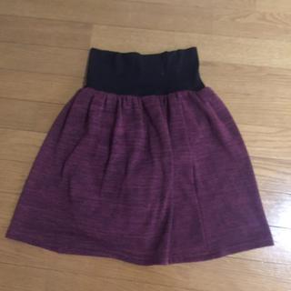 ベルメゾン(ベルメゾン)のお値下げ 888→699 ベルメゾン ズボンつき暖かロングスカート(ミニスカート)