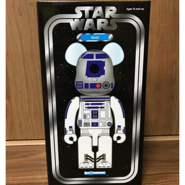 MEDICOM TOY(メディコムトイ)のベアブリック スターウォーズ R2-D2 400% エンタメ/ホビーのフィギュア(SF/ファンタジー/ホラー)の商品写真