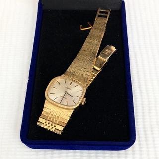ティソ(TISSOT)のTISSOT  STYLIST  金張10microns レディース手巻き腕時計(腕時計)