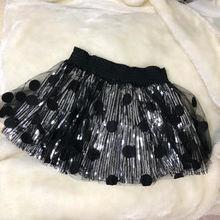 チュチュア(tutuHA)のtutuha /スパンコールスカート(ミニスカート)