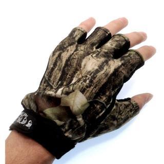 在庫処分☆釣り ゴルフ 自転車 手袋 フィッシング 半指手袋(ウエア)