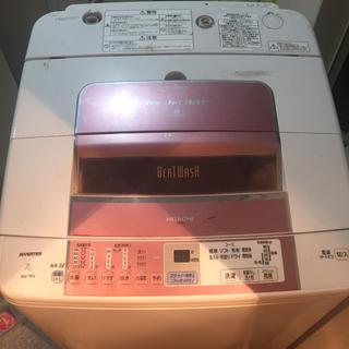 日立 - HITACHI 高年式インバーター7kg洗濯機 美品