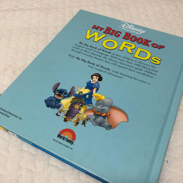 disney my big book of words ディズニー本 英語の通販 by k shop
