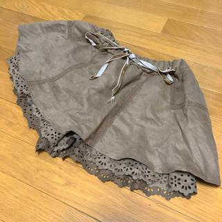 シマムラ(しまむら)のブラウン キュロット 冬服(キュロット)