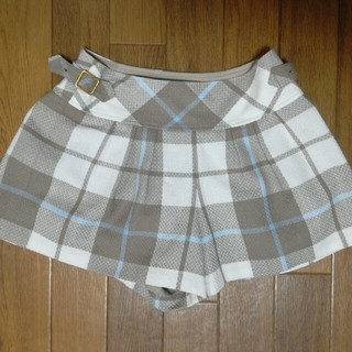 バーバリーブルーレーベル(BURBERRY BLUE LABEL)のバーバリーブルーレーベル キュロットスカート160サイズ(スカート)