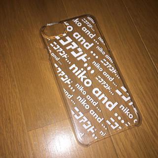 ニコアンド(niko and...)のiPhone ケース(iPhoneケース)