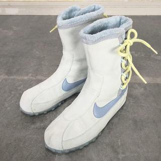 ナイキ(NIKE)のNIKE ナイキ スエードコンバットブーツ ◆21.5cm(ブーツ)