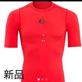 シースリーフィット(C3fit)の定価9000円  c3fit 赤色  Red 半袖(ウェア)