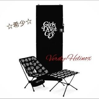 ビームス(BEAMS)の【レア3点セット】Girls don't cry☆Helinox☆アウトドア(アウトドアテーブル)