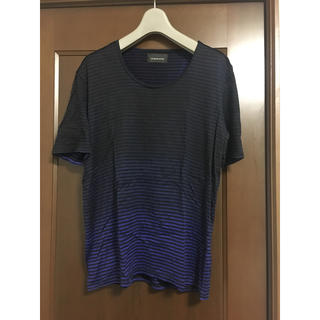 ダイエットブッチャースリムスキン(DIET BUTCHER SLIM SKIN)のDIET BUTCHER SLIM SKIN グラデーションスプレーボーダーT(Tシャツ/カットソー(半袖/袖なし))