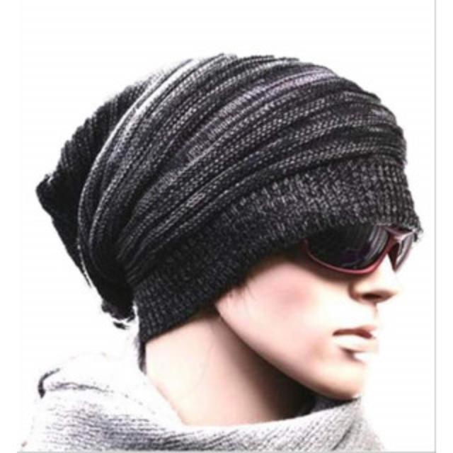 126 ボーダー ニット帽 スノー ワッチ ニット キャップ ワッチ メンズ メンズの帽子(ニット帽/ビーニー)の商品写真