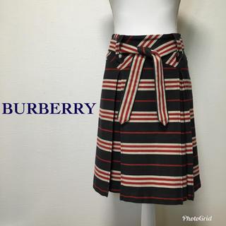 バーバリーブルーレーベル(BURBERRY BLUE LABEL)のBURBERRY スカート ブルーレーベル 36 S M ブルーレーベル(ひざ丈スカート)