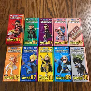 バンプレスト(BANPRESTO)のワンピース ワールドコレクタブル MUGIWARA56 vol.1 vol.2(アニメ/ゲーム)