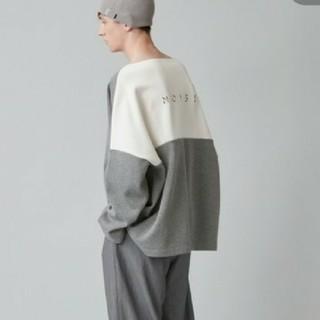 ドゥルカマラ(Dulcamara)のnoisemaker 刺繍切替ボートネック(Tシャツ/カットソー(七分/長袖))
