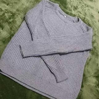 ムジルシリョウヒン(MUJI (無印良品))の無印良品 グレー ニット セーター(ニット/セーター)