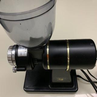 カリタ(CARITA)のナイスカットミル ブラック(電動式コーヒーミル)