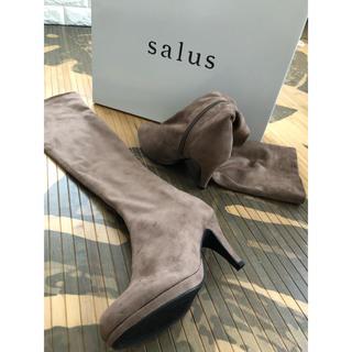 サルース(salus)のニーハイブーツ(ブーツ)