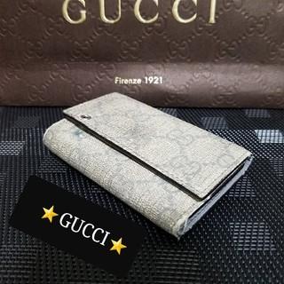 bcbe636e8737 グッチ キーホルダー(グレー/灰色系)の通販 10点 | Gucciを買うならラクマ