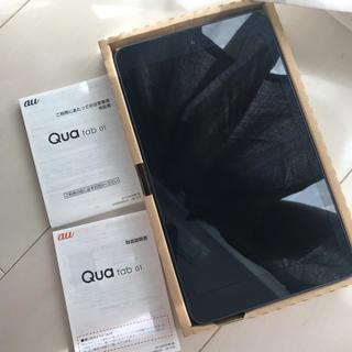 キョウセラ(京セラ)のタブレット qua tab01 美品(タブレット)