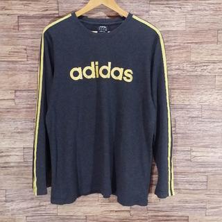 アディダス(adidas)のadidas アディダス 長袖 Tシャツ ロンT(Tシャツ/カットソー(七分/長袖))