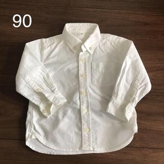 ムジルシリョウヒン(MUJI (無印良品))の無印 オックスフォードシャツ 90(ブラウス)