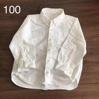 ムジルシリョウヒン(MUJI (無印良品))のあこママさん専用 無印のオックスフォードシャツ 100(ブラウス)