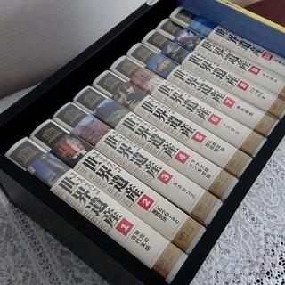 格安❗世界遺産VHSビデオ 全10巻 7巻未開封 美麗収納ケース付 非DVD観賞(全巻セット)