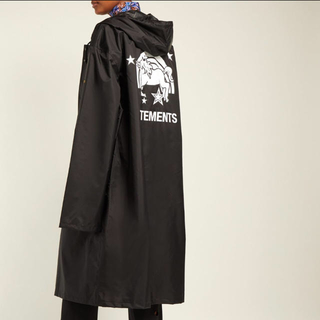 VETEMENTS Unicorn hooded raincoat(レインコート)