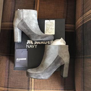ジルサンダー(Jil Sander)のJIL SANDER NAVY  ショートブーツ(ブーツ)