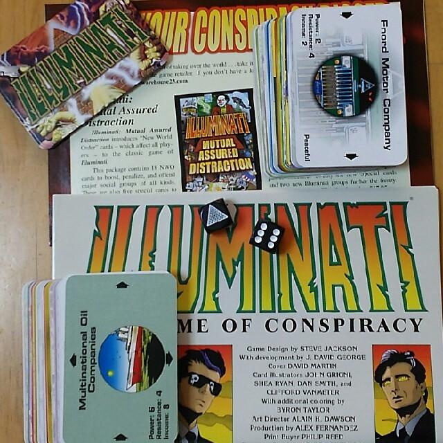 イルミナティ (カードゲーム)