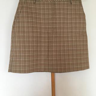 エスプリ(Esprit)のESPRIT チェック柄スカート(ひざ丈スカート)