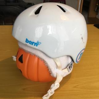 スミス(SMITH)のbern nina XS-S スキー キッズ 子供 自転車 ヘルメット(ウエア/装備)