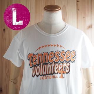 アンビル(Anvil)のHST46/Lサイズ/テネシー ボランティアーズ フットボール Tシャツ(Tシャツ(半袖/袖なし))