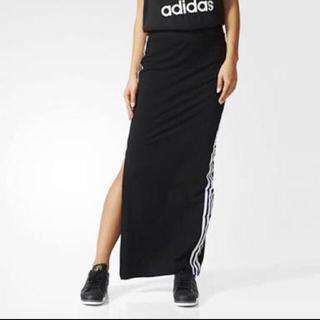 アディダス(adidas)のadidas スリット ロングスカート♡(ロングスカート)