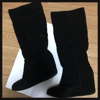 ショップニコニコ(Shop NikoNiko)の【処分価格!!】シークレットヒールロングブーツ(ブーツ)