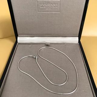 ウノアエレ(UNOAERRE)のウノアエレ 18金 ホワイトゴールド ネックレス(ネックレス)