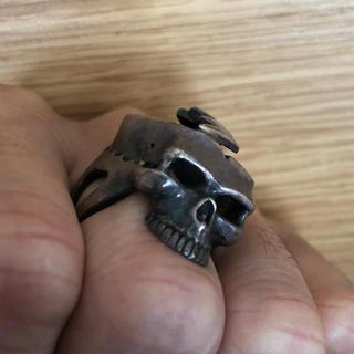 クレイジーピッグ(CRAZY PIG)のクレイジーピッグ スカルリング(リング(指輪))