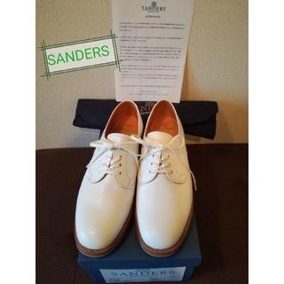 サンダース(SANDERS)のSANDERS レザー プレーントゥシューズ (ローファー/革靴)
