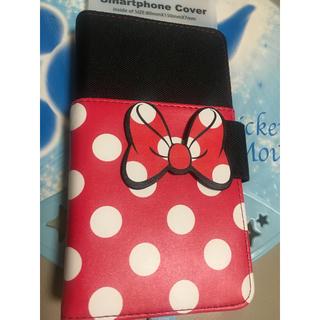 ディズニー(Disney)の【値下げ】スマホケース 多機種対応・カバー ミニーマウス(スマホケース)