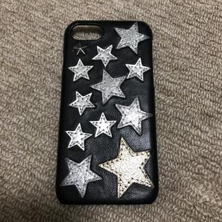 パピヨネ(PAPILLONNER)のパピヨネレザーiphone7ケース (iPhoneケース)