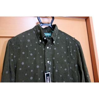 インディヴィジュアライズドシャツ(INDIVIDUALIZED SHIRTS)の【新品】ギットマン 水玉柄コーデュロイボタンダウンシャツ(シャツ)