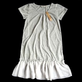 ナチュラルヴィンテージ(natuRAL vintage)の新品 natuRAL vintage ナチュラルヴィンテージ Tシャツワンピース(Tシャツ(半袖/袖なし))