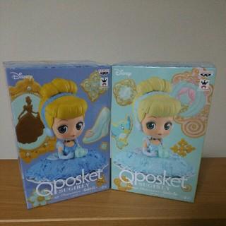 Disney - シンデレラ Qposket フィギュア 2種セット