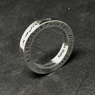 バレンシアガ(Balenciaga)のバレンシアガ FW2017 シルバーリング 925 18号(リング(指輪))